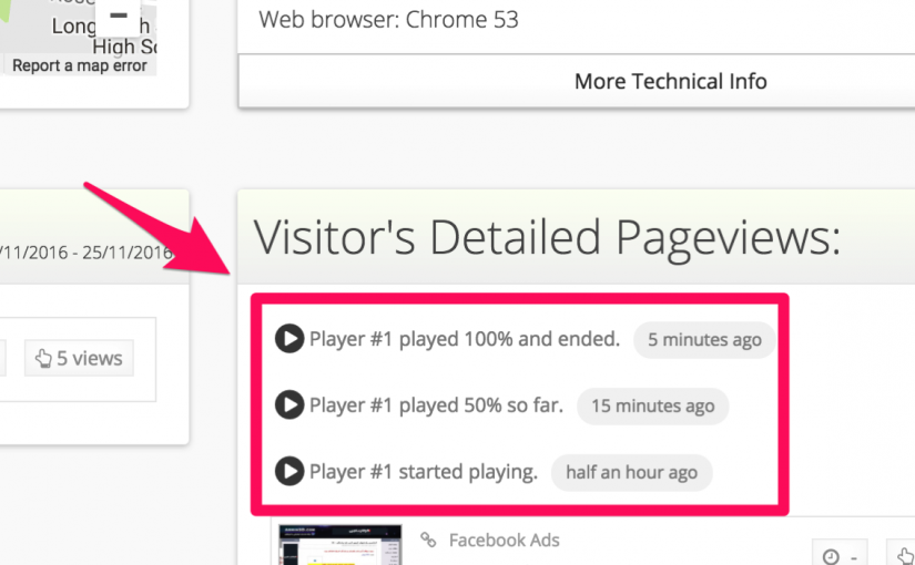 Tracking Videos your visitors watch in your website